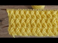 Most up-to-date Pics Knitting Stitches diy Popular Knitters realize that any time you tackle a project, you'd better expect to master a little something new. Knitting Videos, Knitting For Beginners, Knitting Stitches, Knitting Patterns, Crochet Patterns, Knitting Needles, Youtube Sewing, Ribbon Yarn, Sewing Basics