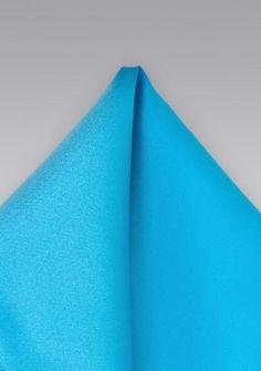 Ziertuch Poly-Faser blaugrün