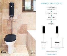 Chasse D Eau Toilettes Sanitaires Haut De Gamme Hydrochasse Atlas Noir Mat Wwww Griffon Fr Collection Classi Toilette Design Toilettes Chasse D Eau
