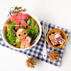 Gingerbread man Bento (5)