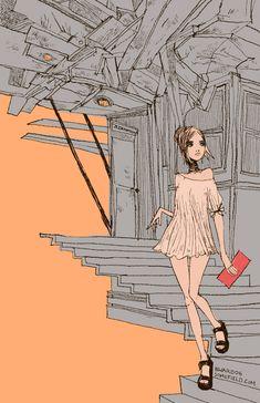 sketch-170 - Barnaby Ward - #illustration, #color, #drawing