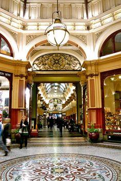 Melbourne : The Block Arcade