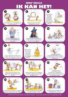 Poster Kids' Skills Ik kan het!