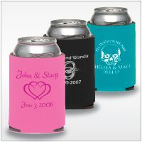 to include in welcome bags - must have because I am obsessed with coozies