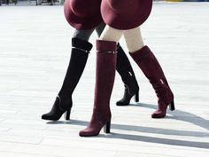 OVERKNEE BOOT Fall Winter 2015, Knee Boots, Accessories, Shoes, Fashion, Fashion Styles, Above Knee Boots, Branding, Moda