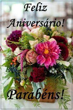 Happy Birthday Quotes, Happy Birthday Cakes, Birthday Cards, Beautiful Rose Flowers, Happy B Day, Cute Friends, Flower Arrangements, Floral Wreath, Birthdays