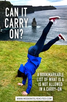 Can it carry on? A bookmarkable list of what is and is not allowed in carry-on luggage for your next trip! Packing Tips For Travel, Travel Advice, Travel Essentials, Travel Guides, Packing Lists, Travel Hacks, Travel Info, Travel Couple, Family Travel