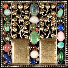 Хочу вам показать прекрасные броши в стиле ар - деко австрийского дизайнера Йозефа Хоффмана (1870—1956), ученика Отто Вагнера. Известен Хоффман своими разработками…