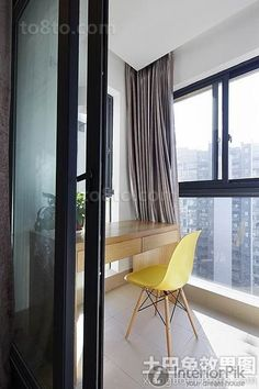 Enclosed balcony lounge renovation renderings 2016