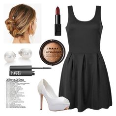 """Day 6: Don't Trust Me"" by chapman-isabelle ❤ liked on Polyvore featuring Ally Fashion, Urban Outfitters, Mikimoto, NARS Cosmetics and LORAC"