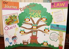 Creatively Quirky at Home: Daisy to Brownie Girl Scout Bridging Ceremony & Brownie KAPER Chart!