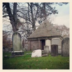 Robinson tomb, Old Town Cemetery, Grand Street #Newburgh