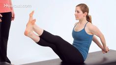 How to Do the Boomerang | Pilates Workout - YouTube