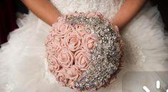 #dazzling #pink #wedding #Bouquet
