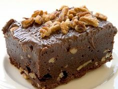 GreyStone Bakery Mocha Kahlua Brownie Recipe - These are so tasty, your family will love them and so will your office workers!