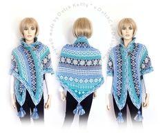 *11014* Hij hangt al geruime tijd in de winkel, deze mooie kleine fair isle shawl. Het patroon is vanaf nu te koop via onze ravelry pagina en binnenkort ook via de webshop en in onze winkel . OOK als pakket Nu ter introductie €2,50 korting tot 24 januari 2015 Blog met link naar het patroon: http://dutchknittylolmetwol.blogspot.nl/…/enigma-een-kleine… patroon: http://www.ravelry.com/patterns/library/enigma-5