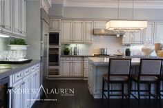 Three Diffe Materials In The Countertops Work Together To Give A Complex Wonderful Aesthetic This Dream Kitchen