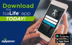 The Ultimate Customer Experience  The most anticipated announcement to come out of NYKO 2018 is officially here and ready to download! Whether you've been with Isagenix for years or have your first order on the way right now, this app will be your favorite way to live your IsaLife™.    Your Most Powerful Isagenix Tool