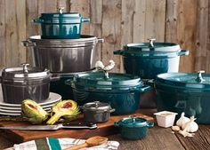 staub cookware love those new colors