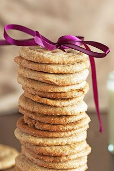 Weight Watchers Caramel Cookies Recipe with Dark Brown Sugar and Vanilla Extract - Dough can be made ahead, then sliced and baked later