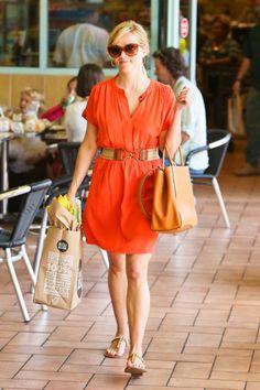 Dress Code: Best Celebrity Summer Frocks - Reese Witherspoon Source by harpersbazaar dress casual Summer Outfits, Casual Outfits, Summer Dresses, Dresses 2013, Dress Casual, Modest Outfits, Celebrity Look, Celebrity Dresses, Reese Witherspoon Style