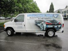 Awesome van wrap done by Speedpro Imaging Coquitlam BC for Brian Jessel BMW! Great graphics!