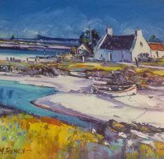... Jean Feeney Arisaig Shore Framed Price £750 ...