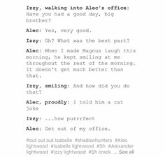 I would be Izzy here