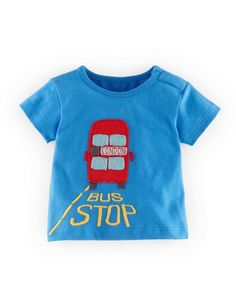 British Appliqué T-shirt 71405 Graphic T-Shirts at Boden