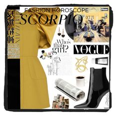 """""""Untitled #329"""" by lastfatima ❤ liked on Polyvore featuring Dice Kayek, Yves Saint Laurent, Korres, Hedi Slimane, Bobbi Brown Cosmetics and Chopard"""