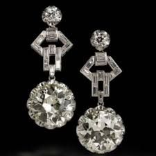 Image result for cartier diamond earrings