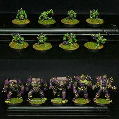 Ogre team from Vortice Miniatures painted by Axia