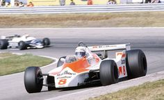 1980 GP Holandii (Alain Prost) McLaren M30 - Ford