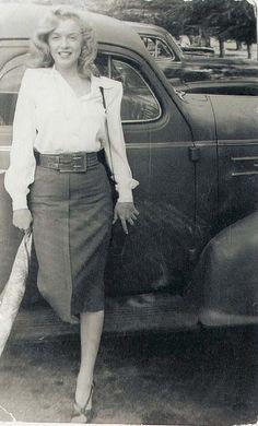 Marilyn Monroe modesty