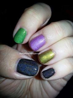My Nail Polish Is Poppin': It's dangerous to go alone, take this!
