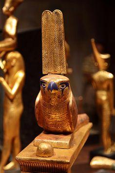 Tutankhamun in Barcelona  Again Horus....