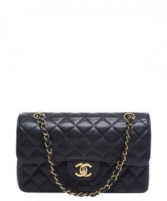 790f257ab39e Chanel Black Caviar Small Double Flap Bag Chanel Small Bag