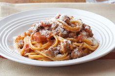 Spaghetti santé à la bolognaise piquante