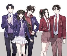 Read Modern AU from the story MXTX Humor by Yuzarforever (Yuzar) with 85 reads. Come saranno mai i nostri personaggi preferiti se fossero. Character Art, Character Design, Chinese Cartoon, Dibujos Cute, The Grandmaster, Anime Eyes, Chibi, Anime Art, Fangirl
