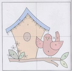 bird & birdhouse
