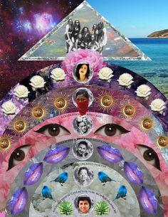 Seis Días' digital collage 2014 by Barbara Calderón