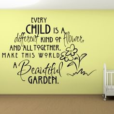 Wall words ... | A special place for foster children