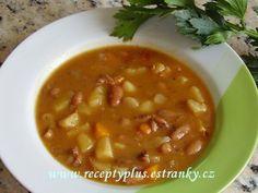fazolova-pikantni-polevka Cheeseburger Chowder, Food And Drink, Soup, Soups, Chowder