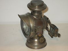 ANTIQUE RARE FRENCH DUCELLIER BICYCLE OIL LAMP LANTERN LIGHT not carbide in Collectibles | eBay