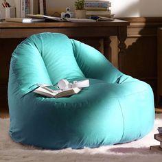 PB Teen Solid Leanback Lounger Single Pool At Pottery Barn Blue FurnitureRecycled FurnitureFurniture ChairsBlue Bean BagsBlue