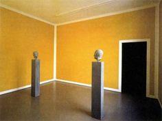 Blinky Palermo - Zwei Skulpturen für einem Raum von Palermo, 1971