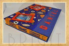 Handmade book / bookbinding - Game Balls Album - Handbound book - Handbound Journal