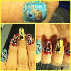 Glee! Nails