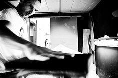 Marc BILLION Atelier de shape en Bretagne Quiberon  Photo: Damien BARAULT