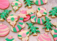 LilaLoa: Christmas Stocking Cookies